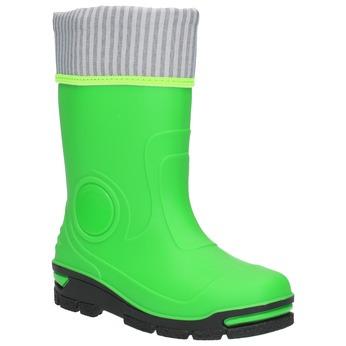 Children´s green Wellington boots mini-b, green, 292-7200 - 13