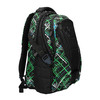 School backpack with printed pattern bagmaster, green, 969-7613 - 13