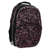 School backpack with a printed pattern bagmaster, black , 969-6602 - 13