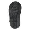 Children's ankle shoes bubblegummer, black , 111-6610 - 26