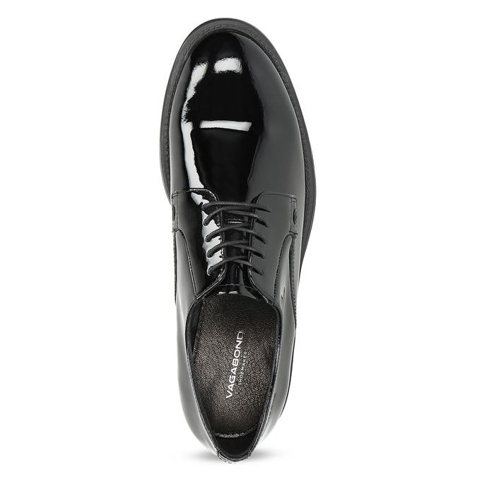 Ladies' shoes in Derby style vagabond, black , 528-6004 - 17
