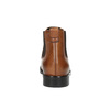 Women's leather Chelsea boots bata, brown , 594-3902 - 17