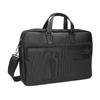 Black laptop bag roncato, black , 969-6640 - 13