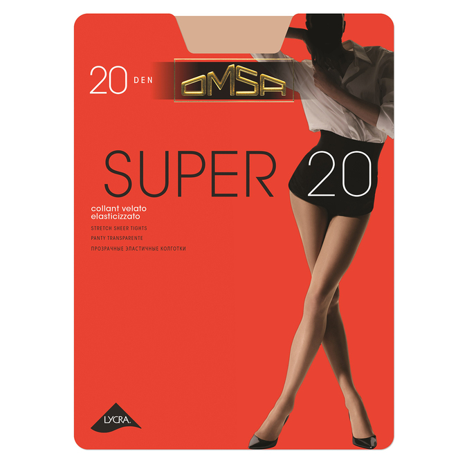 Ladies' tights omsa, beige , 919-8385 - 13