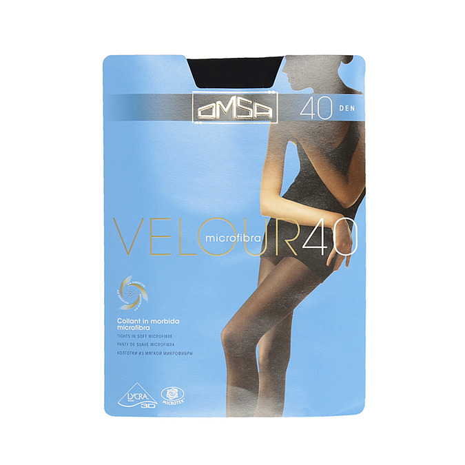 Ladies' opaque tights omsa, black , 919-6415 - 13