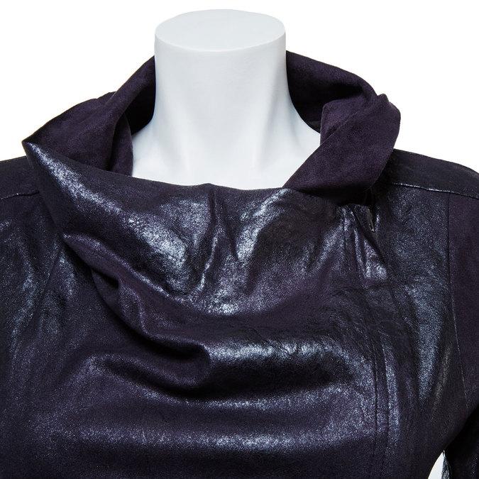 Ladies' casual jacket with collar bata, black , 979-6635 - 16