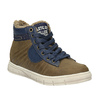 Children's sneakers with fur mini-b, brown , 491-4600 - 13