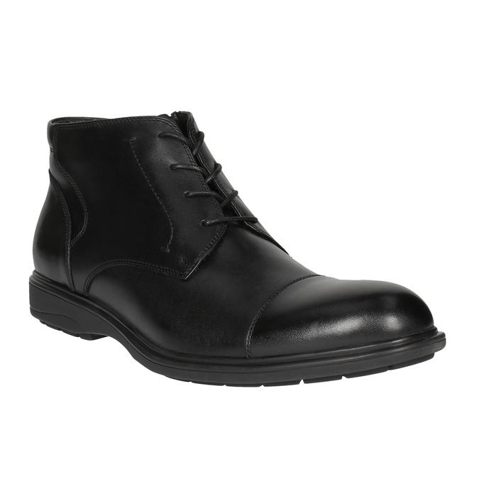 Men´s ankle-cut shoes bata, black , 894-6671 - 13