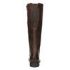 H-width leather Cossacks bata, brown , 596-4611 - 17