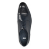 Blue leather shoes bata, blue , 826-9769 - 19