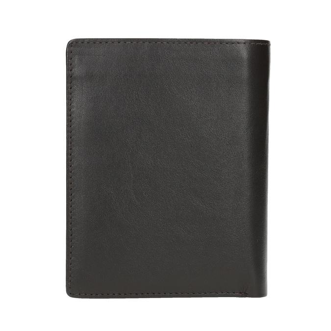 Men's leather wallet bata, brown , 944-4169 - 19