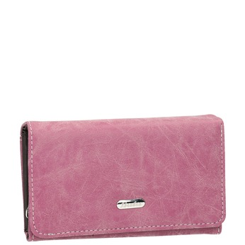 Stylish ladies' purse, pink , 941-5153 - 13
