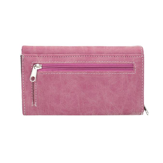 Stylish ladies' purse, pink , 941-5153 - 19