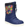 Children's insulated winter snow boots mini-b, blue , 392-9200 - 13