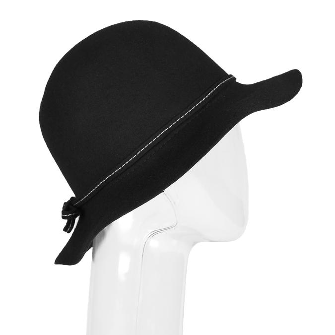 Ladies' hat with quilting bata, black , 909-6294 - 13