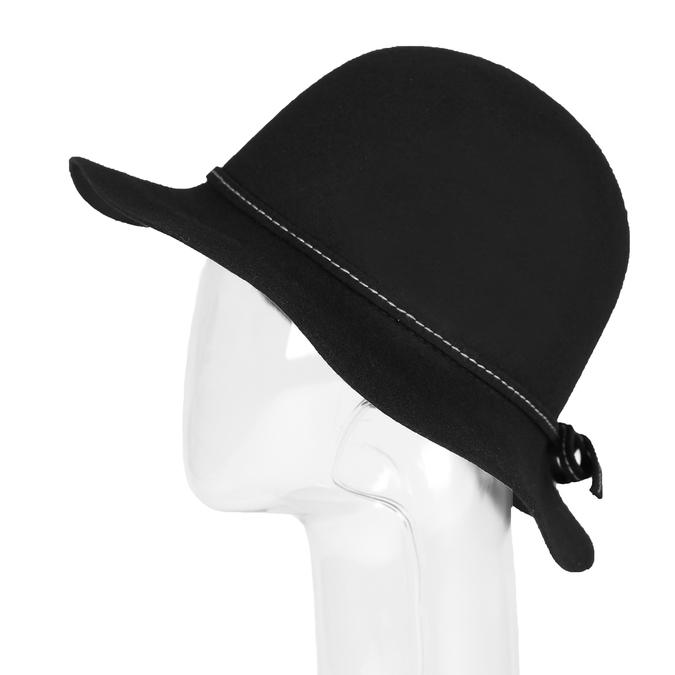 Ladies' hat with quilting bata, black , 909-6294 - 26