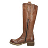 Brown leather high boots bata, brown , 594-4613 - 19
