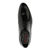Lacquered leather shoes conhpol, black , 828-6604 - 19