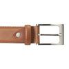 Men's brown leather belt, brown , 954-4153 - 26