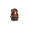 Brown leather Oxford shoes bata, brown , 826-3810 - 17