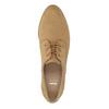 Ladies' Derby shoes bata, brown , 529-3632 - 19