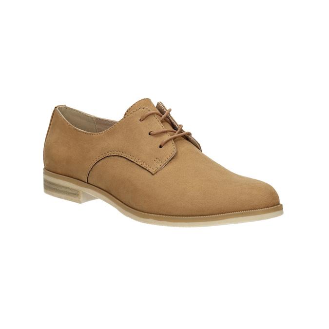 Ladies' Derby shoes bata, brown , 529-3632 - 13