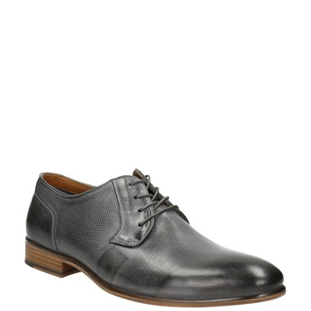 Men's leather Ombré shoes bata, gray , 826-2794 - 13