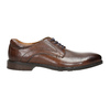 Men's brown leather shoes bata, brown , 826-4800 - 15
