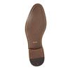 Blue leather shoes bata, blue , 826-9794 - 26