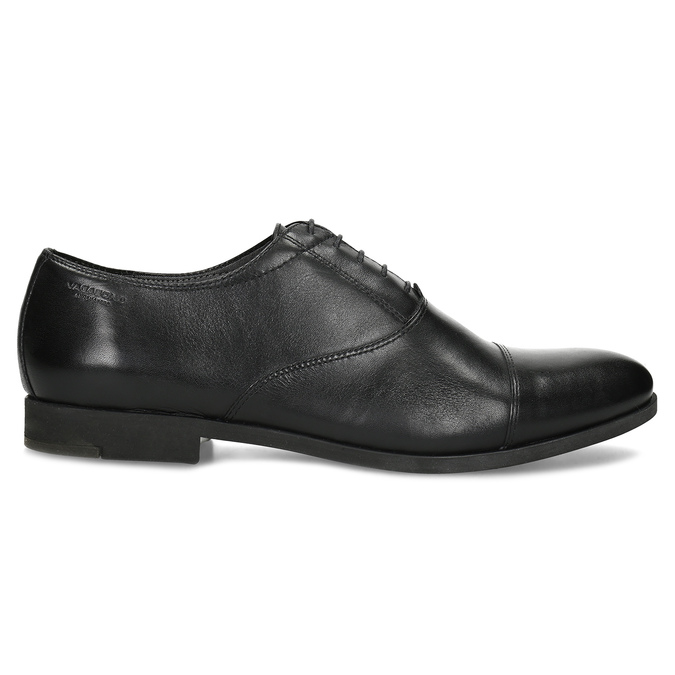 Black leather Oxford shoes vagabond, black , 824-6048 - 19