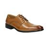 Men's Brogue leather shoes bata, brown , 826-3821 - 13