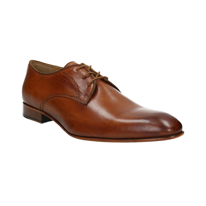 Men's leather shoes bata, brown , 826-3836 - 13