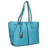 Blue Shopper handbag gabor-bags, turquoise, 961-9074 - 13