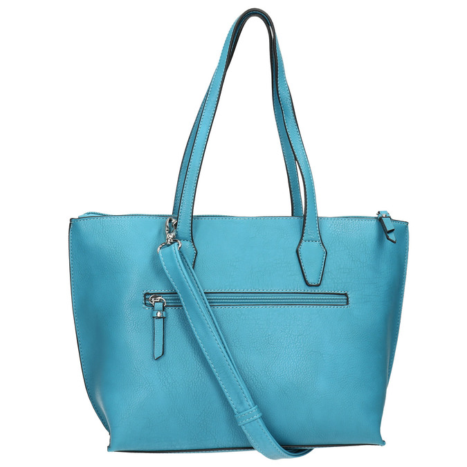 Blue Shopper handbag gabor-bags, turquoise, 961-9074 - 19