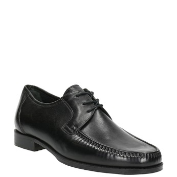 Men´s shoes with quilting bata, black , 824-6838 - 13