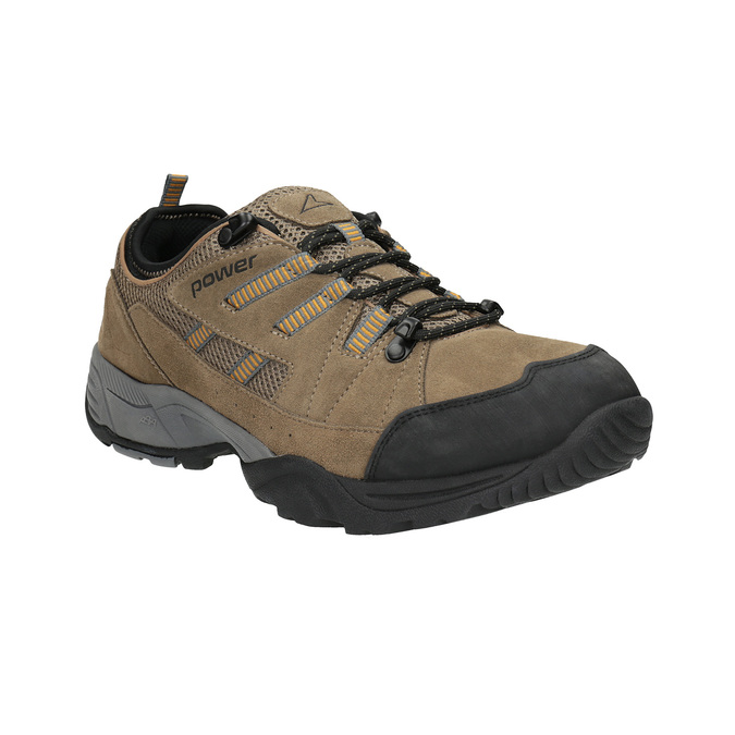 Leather outdoor shoes power, brown , 803-3118 - 13