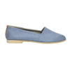 Ladies' shoes in the Slip-on style bata, blue , 516-9602 - 15