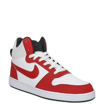 Men's ankle sneakers nike, red , 801-5332 - 13
