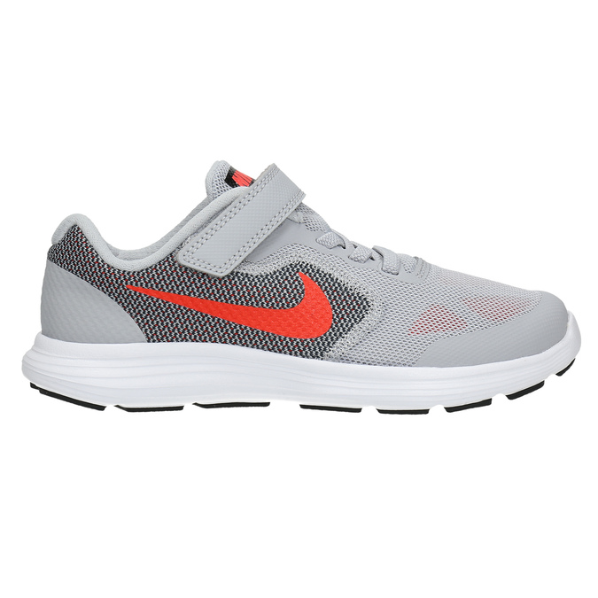 Children's sporty sneakers nike, gray , 309-2149 - 15