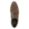 Men's brushed leather shoes bata, brown , 823-4606 - 19