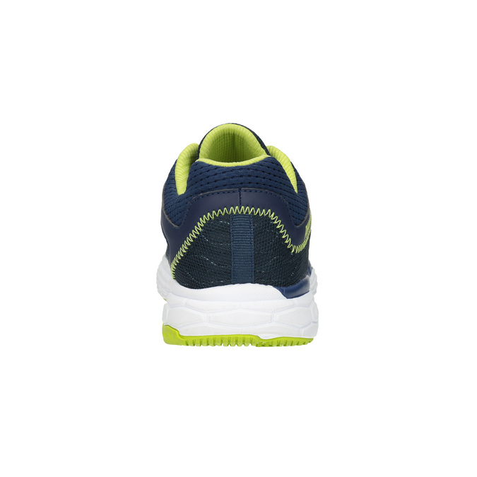 Sport sneakers with a pattern power, blue , 809-9155 - 17