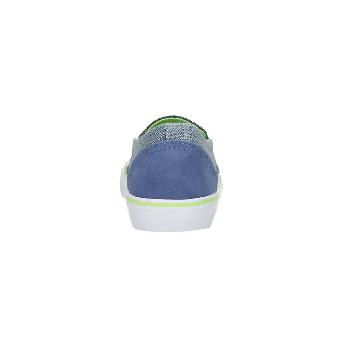 Children's slip-ons north-star-junior, blue , 219-9612 - 17