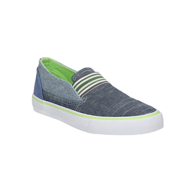 Children's slip-ons north-star-junior, blue , 219-9612 - 13
