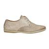 Ladies' leather shoes bata, beige , 526-8629 - 15