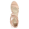 Heeled lace-up sandals insolia, pink , 769-5613 - 19