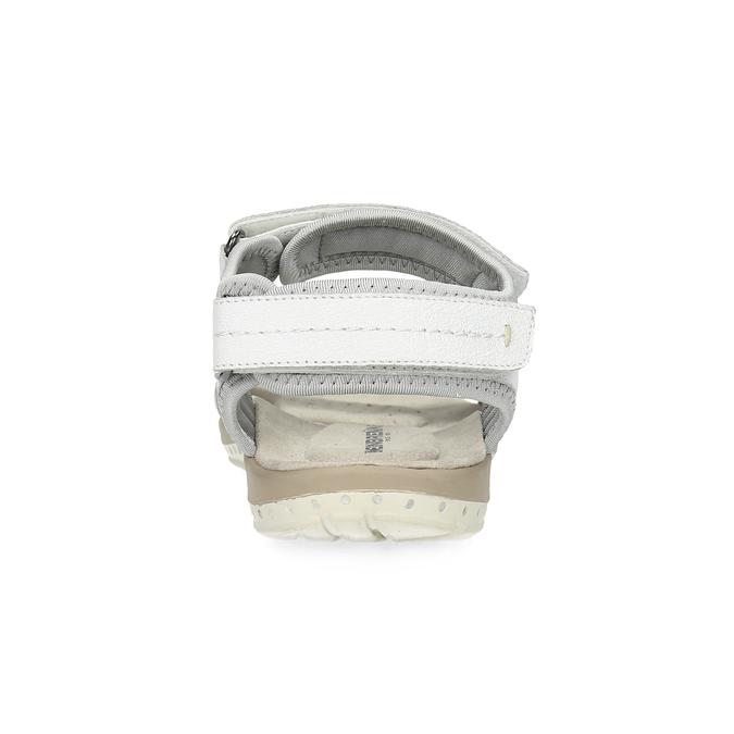 Ladies' leather sandals weinbrenner, white , 566-1608 - 15