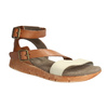 Leather sandals with a distinctive sole weinbrenner, brown , 566-4627 - 13