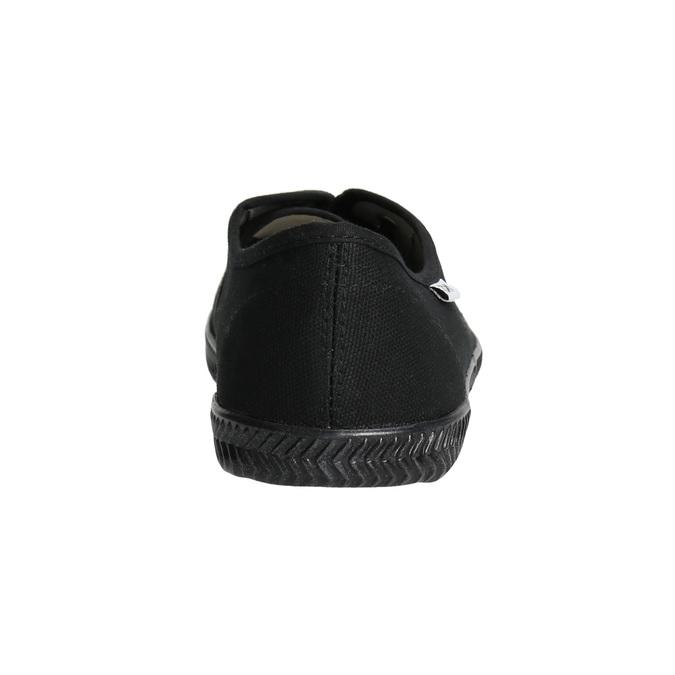 Ladies' black sneakers tomy-takkies, black , 589-6180 - 17