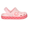 Pink sandals with frog coqui, pink , 272-5603 - 15