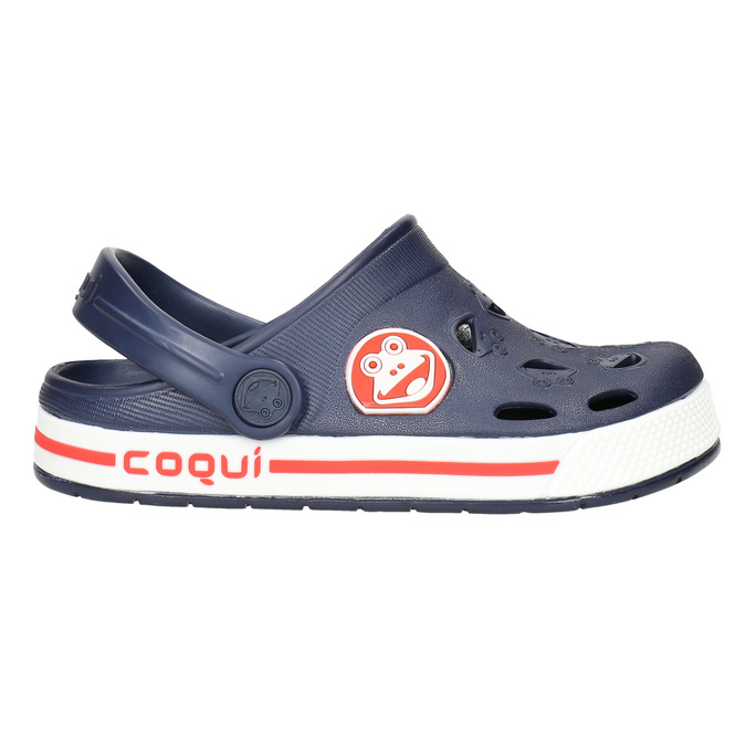 Children's blue sandals coqui, blue , 272-9603 - 15